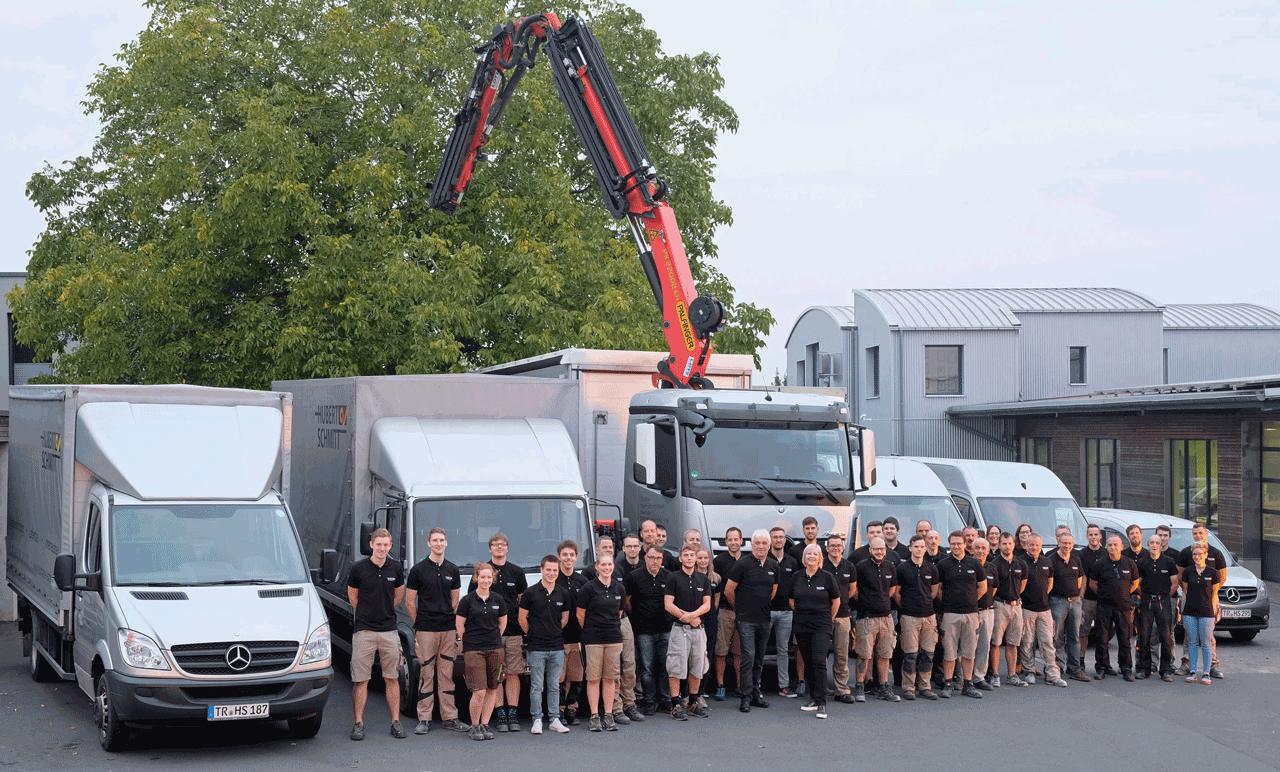 Team der Tischlerei Hubert Schmitt GmbH